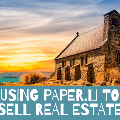 using paper.li to sell real estate