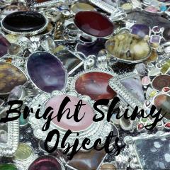 bright shiny objects