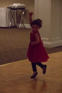 granddaughter dancing