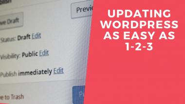 Updating Wordpress as easy as 1-2-3