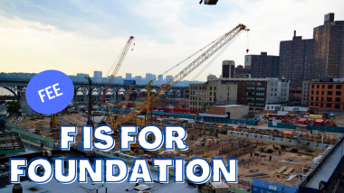 f is for foundation