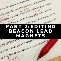 Editing Beacon Lead Magnets