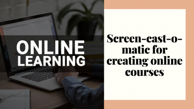 screencastomatic for creating online courses