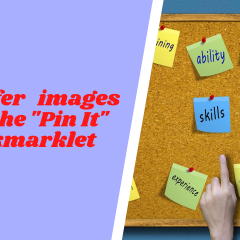 transfer images with the pin it